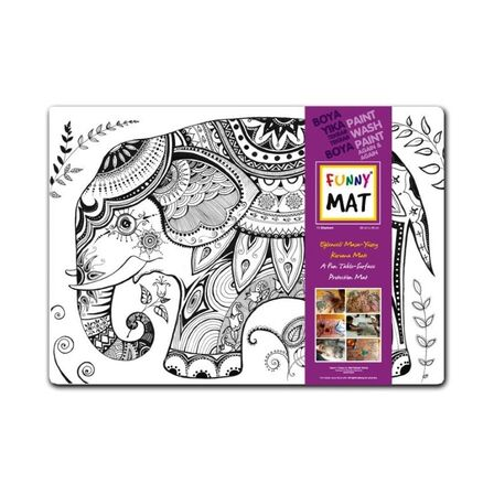 FUNNY MAT - Funny Mat Activity Placemat Elephant