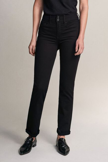 Salsa Jeans - Black Push In Secret slim true black jeans
