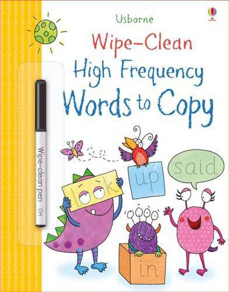 USBORNE PUBLISHING LTD UK - Wipe-Clean High-Frequency Words to Copy