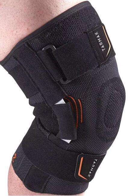 TARMAK - Strong 700 Right/Left Men's/Women's Knee Ligament Support - Black, 2