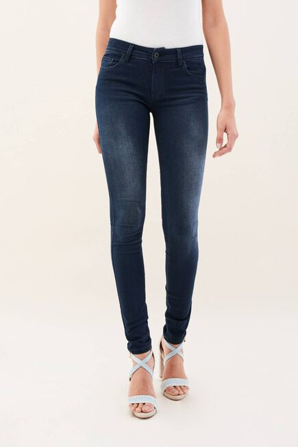 Salsa Jeans - Blue Wonder push up skinny mid-rise soft touch jeans