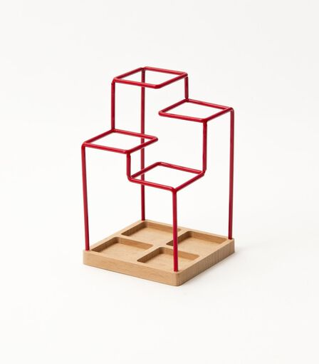 BLOCK - Block Sketch Tidy Desk Organizer Red