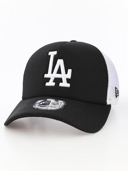 NEW ERA - New Era Clean Trucker LA Dodgers Black/White Cap
