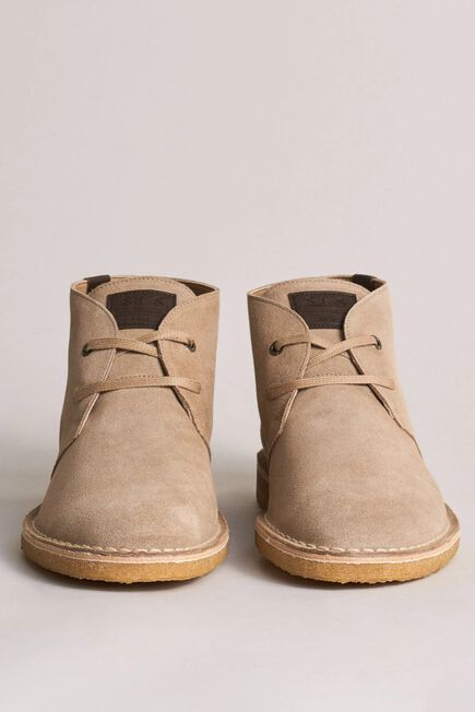 Salsa Jeans - Beige Flat boots with crepe sole
