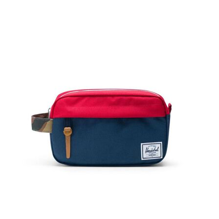 HERSCHEL SUPPLY CO. - Herschel Classic Chapter Carry On Pouch Navy/Red/Woodland Camo