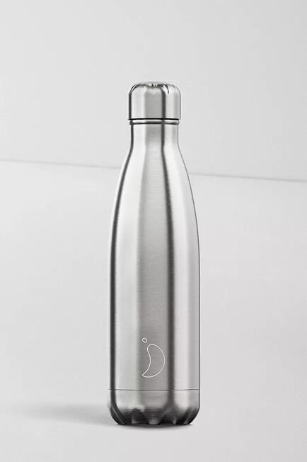Urban Outfitters - Silver Chilly's 500Ml Stainless Steel Water Bottle