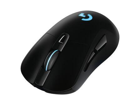 LOGITECH G - Logitech G G703 LIGHTSPEED Wireless Gaming Mouse with HERO 16K Sensor/LIGHTSYNC RGB/POWERPLAY Compatible/Lightweight 95g+10g Optional/100-