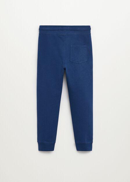 Mango - bright blue Organic cotton jogger trousers