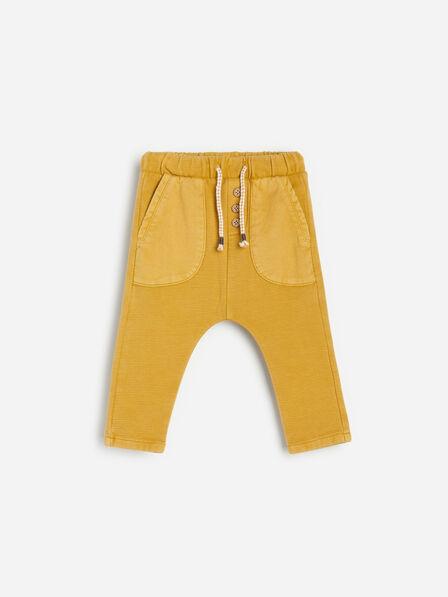 Reserved - Yellow Jersey Sweatpants, Kids Boy