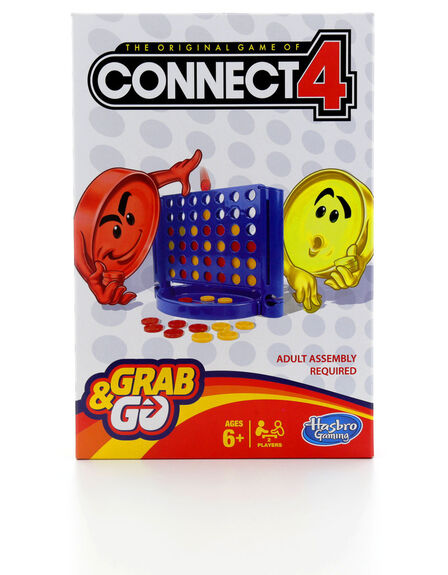 HASBRO - Connect 4 Grab And Go Board Game