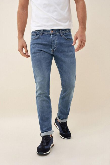 Salsa Jeans - Blue Lima tapered rip proof jeans