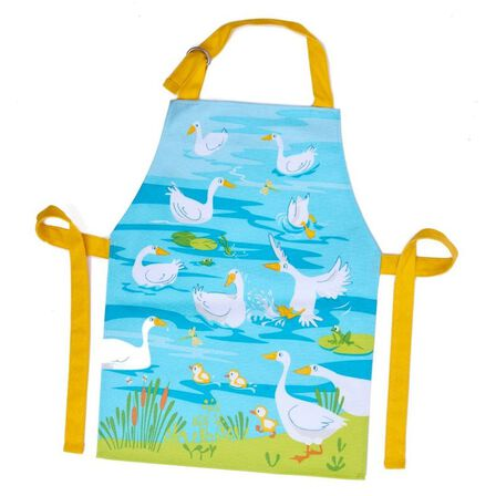 THREADBEAR DESIGN - Threadbear Design Gaggle Of Geese Apron 3-6 Yrs
