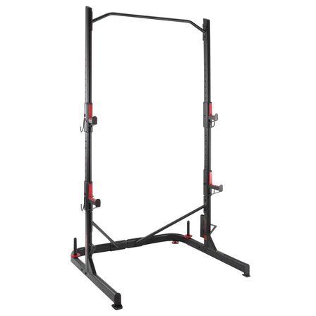 DOMYOS - Weight Training Rack Squats Chin-Ups