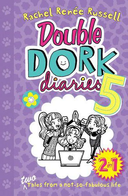 SIMON & SCHUSTER UK - Double Dork Diaries #5 Drama Queen and Puppy Love