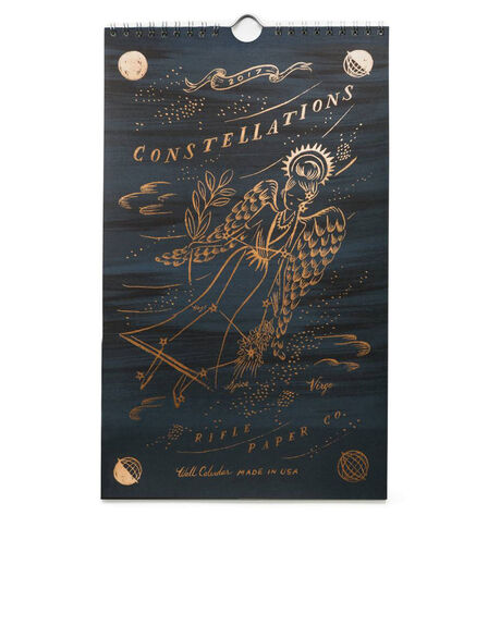 RIFLE PAPER CO. - Rifle Paper Co 2017 Constellations Wall Calendar