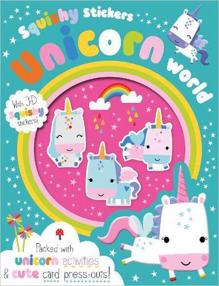 MAKE BELIEVE IDEAS UK - Squishy Stickers Unicorn World