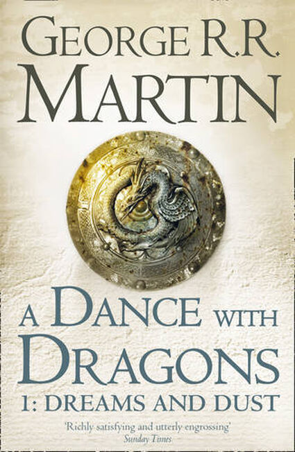 HARPER COLLINS UK - Dance With Dragons Dreams & Dust
