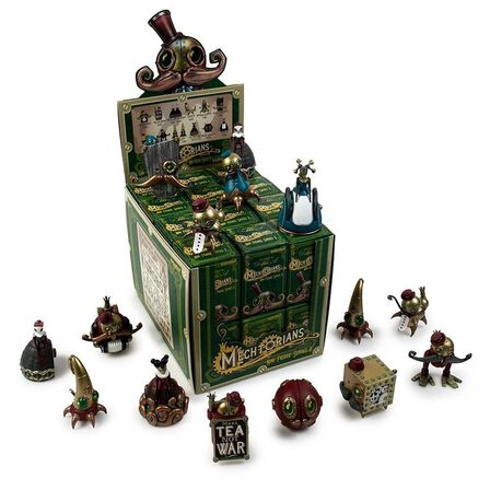 KIDROBOT - Kidrobot The Mechtorians Mini Art Figure Series By Doktor A Blind Box [Includes 1]