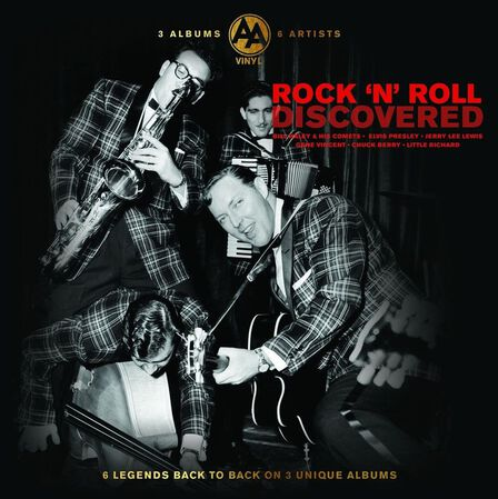 BELLEVUE PUBLISHING & ENTERTAINMENT - Discovered Rock N Roll (3 Discs) | Various Artists