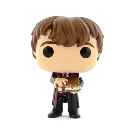 FUNKO TOYS - Funko Pop Harry Potter Neville with Monster Book Vinyl Figure