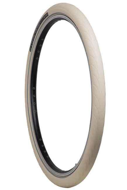 BTWIN - City 5 Protect 26X1.75 / Etrto 44-559 City Bike Tyre - White