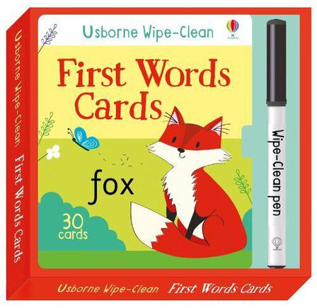 USBORNE PUBLISHING LTD UK - Wipe-Clean First Words Cards