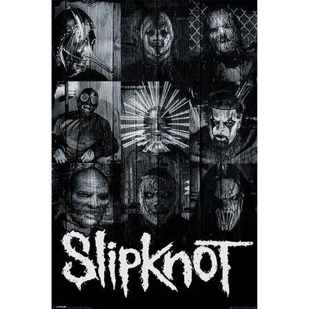 PYRAMID POSTERS - Slipknot Masks Maxi Poster