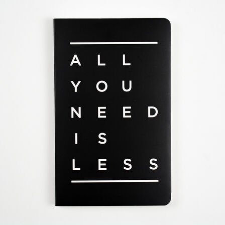 LETTERNOTE - Letternote All You Need Is Less Vivid Series Notebook