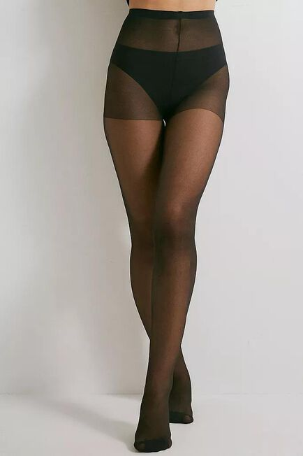 Urban Outfitters - Black 20 Denier Opaque Tights, Women
