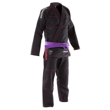 OUTSHOCK - A3 185-195cm  500 Brazilian Jiu-Jitsu Adult Uniform, Black