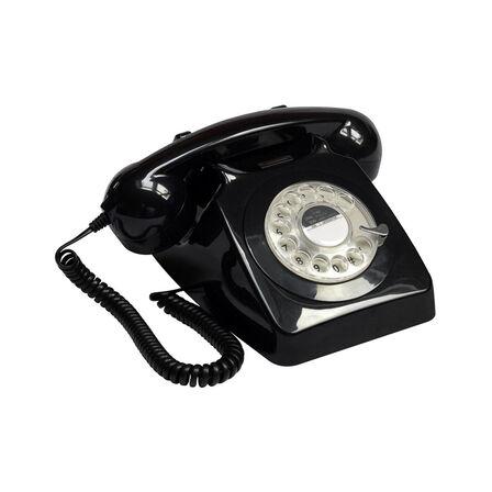 GPO - GPO Telephones 746 Push Black