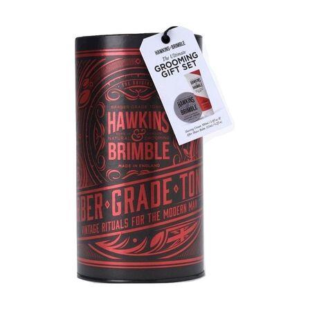 HAWKINS & BRIMBLE - Hawkins & Brimble Grooming Set Shaving Cream + After Shave Balm