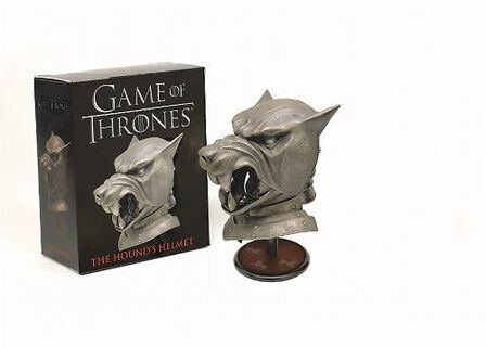 RUNNING PRESS USA - Game of Thrones The Hound's Helmet