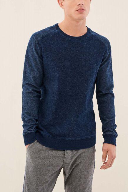 Salsa Jeans - Blue Regular Fit Sweater With Texture