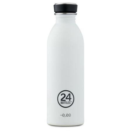 24 BOTTLES - 24 Bottles Urban Bottle Basic Ice White 500ml