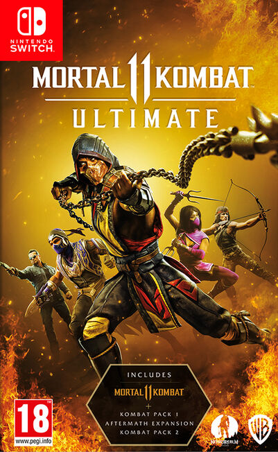 WARNER BROTHERS INTERACTIVE - Mortal Kombat 11 Ultimate - Nintendo Switch