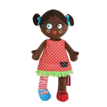 LES DEGLINGOS - Les Mistinguettes Plush Doll - Paulette