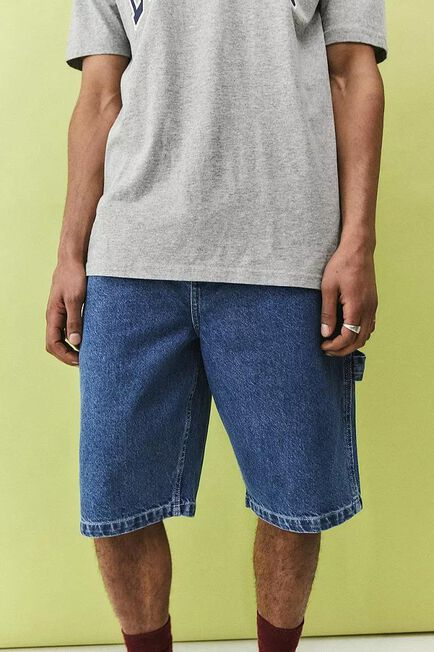 Urban Outfitters - DENIM D Dickies Garyville Mid-Wash Denim Shorts