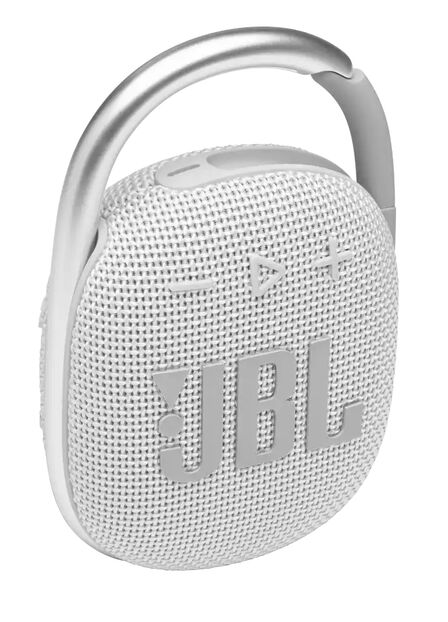 JBL - Jbl Clip4 White Portable Speaker
