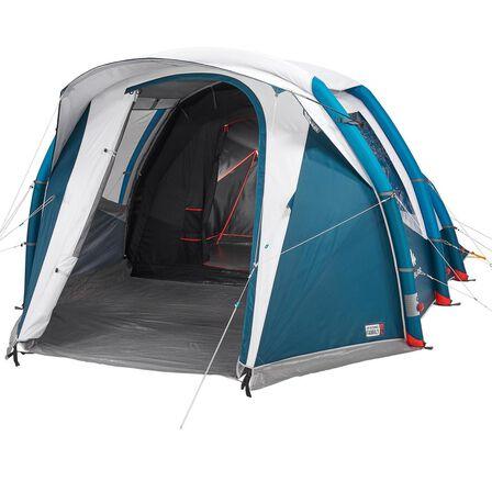 QUECHUA - Unique Size  Inflatable Camping Tent Air Seconds 4.1 F&B 4 Person 1 Bedroom, Default