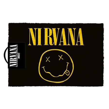 PYRAMID POSTERS - Nirvana Smiley Doormat [60 x 40 cm]