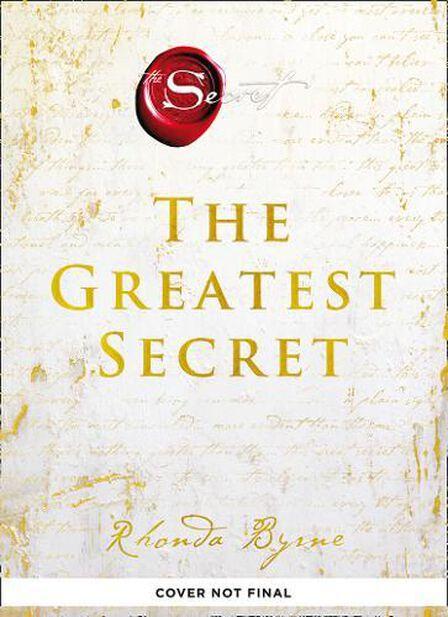 HARPER COLLINS UK - The Greatest Secret