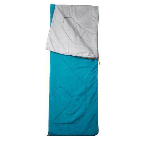 QUECHUA - Arpenaz 20° Camping Sleeping Bag - Deep Petrol Blue