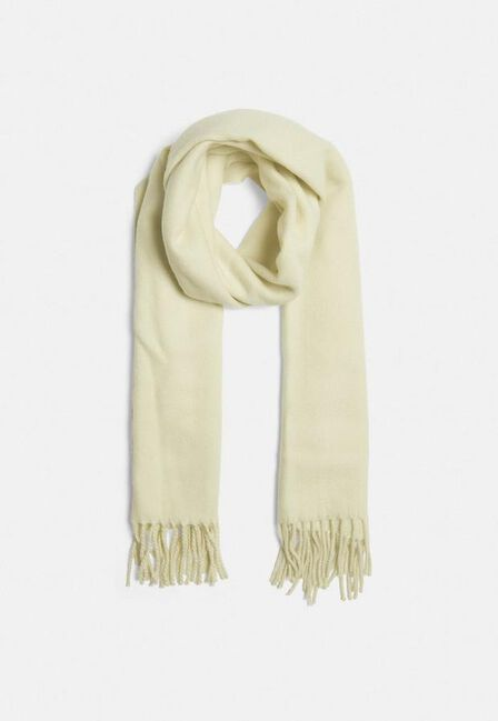 Missguided - White Cream Blanket Scarf
