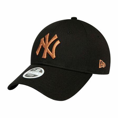 NEW ERA - New Era Metallic Logo NY Yankees Women's Cap Black
