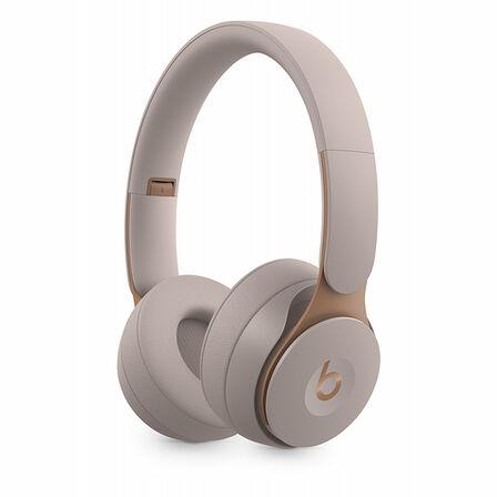 BEATS BY DR. DRE - Beats Solo Pro Grey Wireless Noise-Cancelling On-Ear Headphones