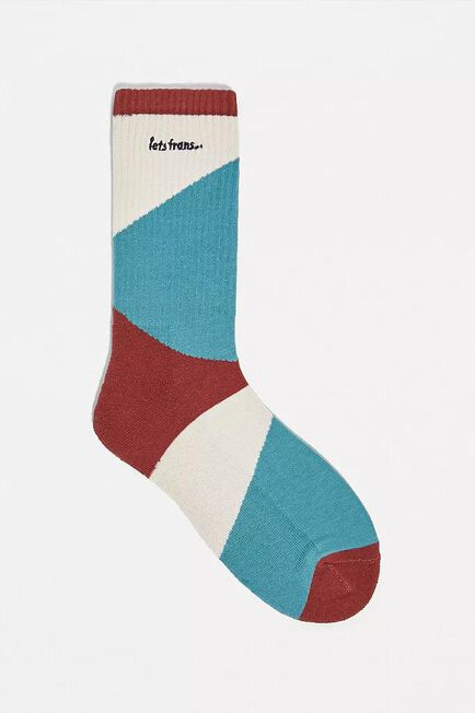 Urban Outfitters - Assorted Iets Frans'.. Spliced Ribbed Socks