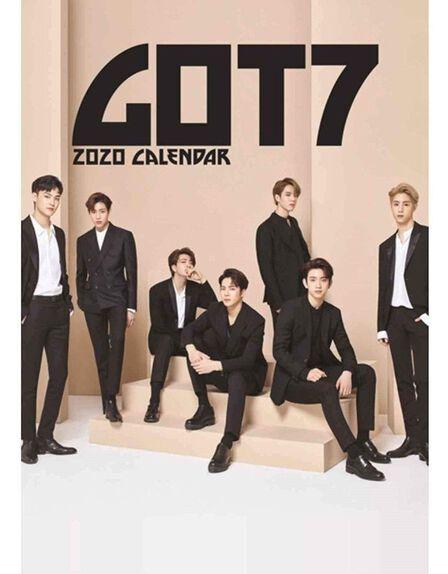 RARU - Got7 2020 Unofficial Calendar