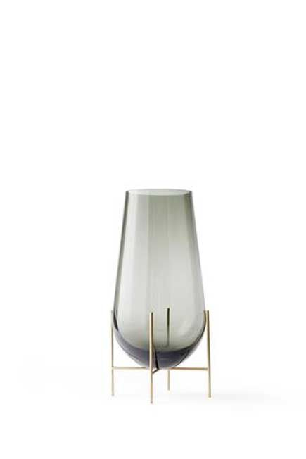 Menu - Echasse Vase, Smoke, Small