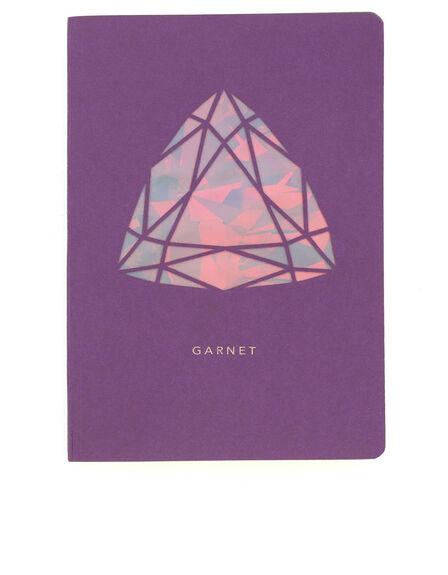PORTICO DESIGN LTD - Portico Design Garnet Birthstone Purple A6 Notebook